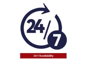 24×-Availability